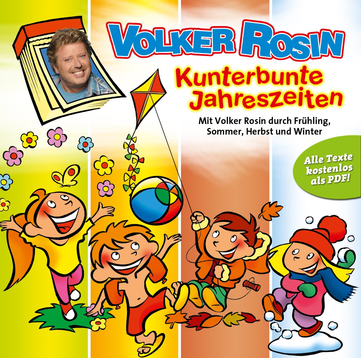 Kunterbunte Jahreszeiten (CD)